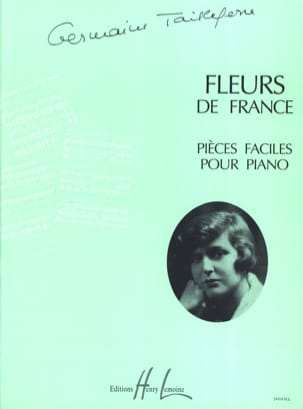 Fleurs de France Germaine Tailleferre Partition Piano - laflutedepan