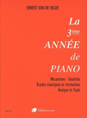 VAN DE VELDE - Das dritte Jahr des Klaviers - Partition - di-arezzo.de