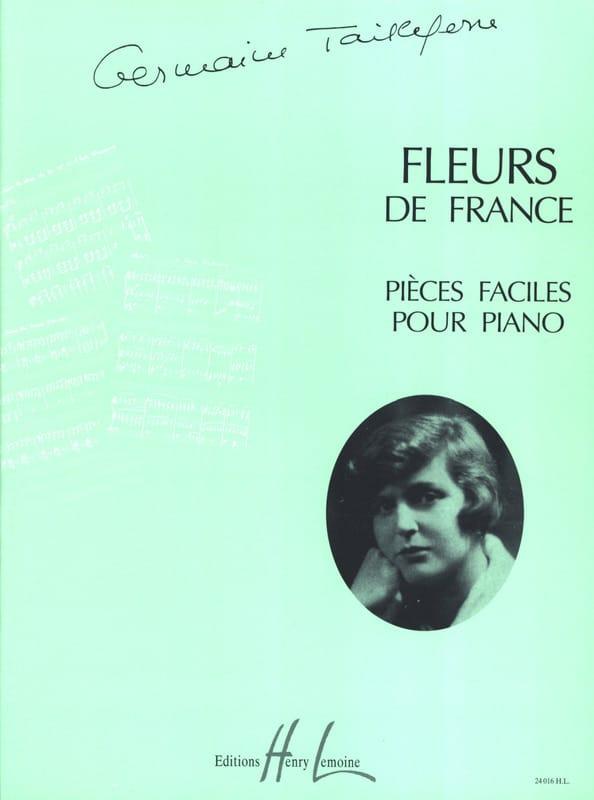 Fleurs de France - Germaine Tailleferre - Partition - laflutedepan.com