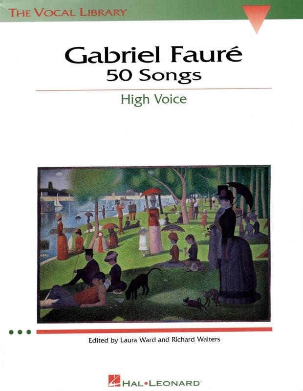 50 Songs. Voix Haute - FAURÉ - Partition - Mélodies - laflutedepan.com