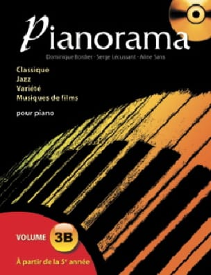 Pianorama 3B - Partition - Piano - laflutedepan.com