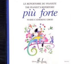 CD - Piu Forte Partition Piano - laflutedepan