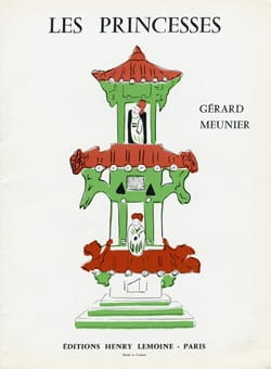 Les Princesses Gérard Meunier Partition Piano - laflutedepan