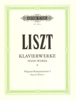 Originalkompositionen 1 LISZT Partition Piano - laflutedepan