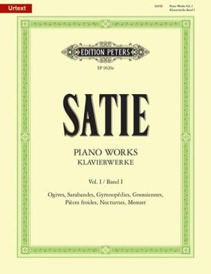 Klavierwerke Volume 1 SATIE Partition Piano - laflutedepan