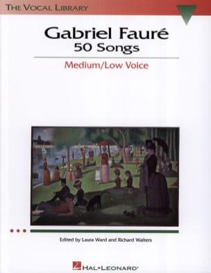 50 Songs. Voix Moyenne FAURÉ Partition Mélodies - laflutedepan