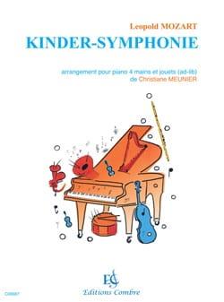 Kinder-Symphonie Leopold Mozart Partition Piano - laflutedepan