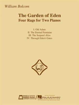 The Garden Of Eden William Bolcom Partition Piano - laflutedepan
