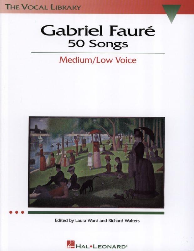 50 Songs. Voix Moyenne - FAURÉ - Partition - laflutedepan.com