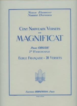 100 Nouveaux Versets Du Magnificat Volume 3 - laflutedepan.com