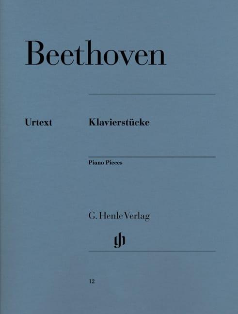 Klavierstücke - BEETHOVEN - Partition - Piano - laflutedepan.com