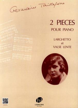 2 Pièces Germaine Tailleferre Partition Piano - laflutedepan