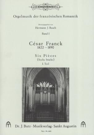 6 Pièces. Volume 1 FRANCK Partition Orgue - laflutedepan