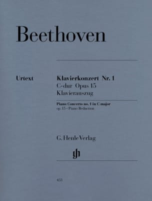 Concerto n° 1 en Ut majeur Opus 15 BEETHOVEN Partition laflutedepan