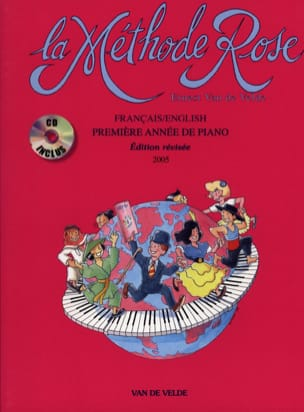 Méthode Rose - Piano - Avec CD - Partition - laflutedepan.com