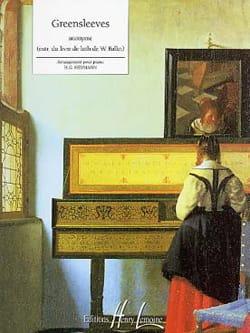 Greensleeves Partition Piano - laflutedepan
