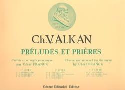 Préludes et Prières - Volume 3 ALKAN Partition Orgue - laflutedepan