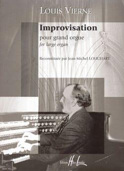 Improvisation VIERNE Partition Orgue - laflutedepan