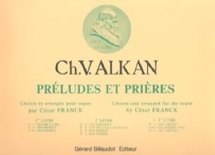Préludes et Prières - Volume 3 - ALKAN - Partition - laflutedepan.com