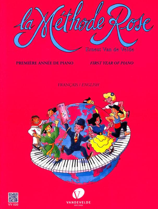 Méthode Rose - Piano - Sans CD - Partition - laflutedepan.com
