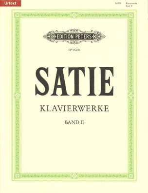 Klavierwerke Volume 2 SATIE Partition Piano - laflutedepan