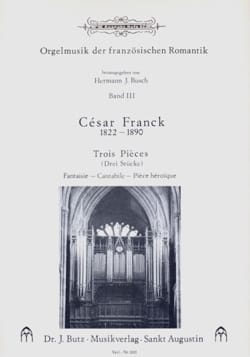 3 Pièces FRANCK Partition Orgue - laflutedepan