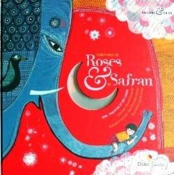 Comptines de Roses et de Safran Livre laflutedepan