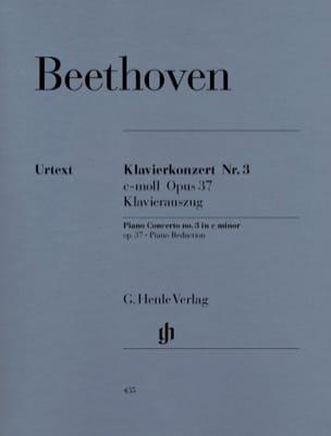 BEETHOVEN - Concerto pour piano n° 3 en ut mineur Opus 37 - Partition - di-arezzo.fr