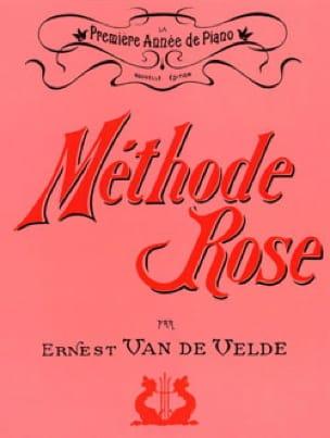 Méthode Rose - Partition - Piano - laflutedepan.com