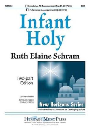 Infant Holy - Ruth Elaine Schramm - Partition - laflutedepan.com