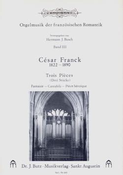 3 Chorals FRANCK Partition Orgue - laflutedepan