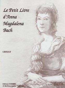 Le Petit Livre d'Anna Magdalena BACH Partition Piano - laflutedepan