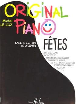 Original Piano Fêtes Michel LE COZ Partition Piano - laflutedepan