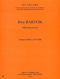 Analyse des Mikrokosmos Bartok Bela / Louvier Alain Livre laflutedepan