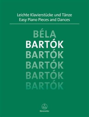 Easy Piano Pieces and Dances BARTOK Partition Piano - laflutedepan