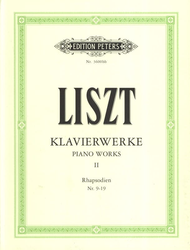 Klavierwerke Volume 2 - LISZT - Partition - Piano - laflutedepan.com