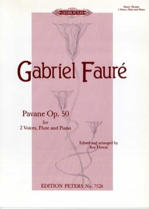 Pavane Opus 50 FAURÉ Partition Duos - laflutedepan