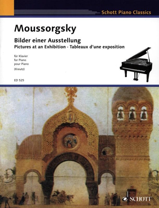 Tableaux D'une Exposition - MOUSSORGSKI - Partition - laflutedepan.com