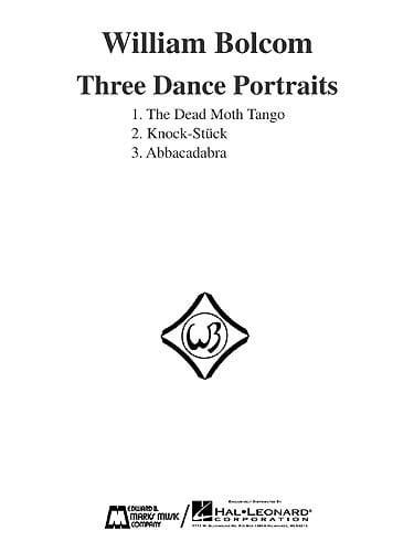 Three Dance Portraits - William Bolcom - Partition - laflutedepan.com