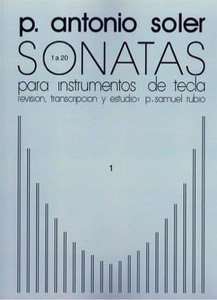 Sonates. Volume 1 Antonio Soler Partition Clavecin - laflutedepan