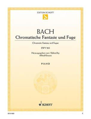 Chromatische Fantasie und Fuge Johann Sebastian Bach laflutedepan