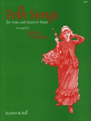 Folk Songs. Partition Harpe - laflutedepan