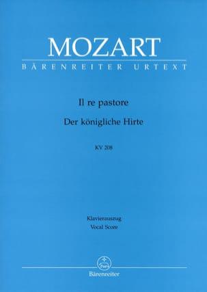 Il Re Pastore K 208 - MOZART - Partition - Opéras - laflutedepan.com