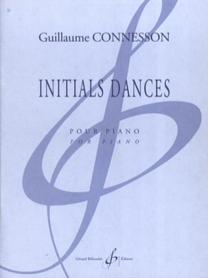 Initials Dances CONNESSON Partition Piano - laflutedepan