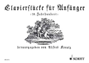 Clavierstücke für Anfänger Partition Clavecin - laflutedepan