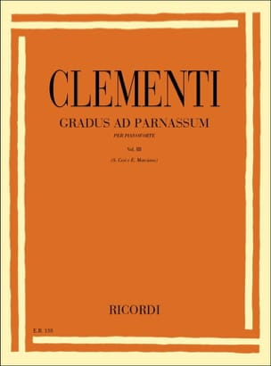 Gradus Ad Parnassum Volume 3 CLEMENTI Partition Piano - laflutedepan