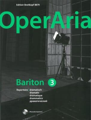 OperAria Baryton - Volume 3 avec CD Partition Opéras - laflutedepan