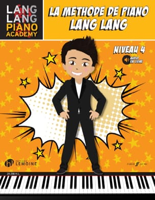 La méthode de Piano LANG LANG - Niveau 4 Lang LANG laflutedepan