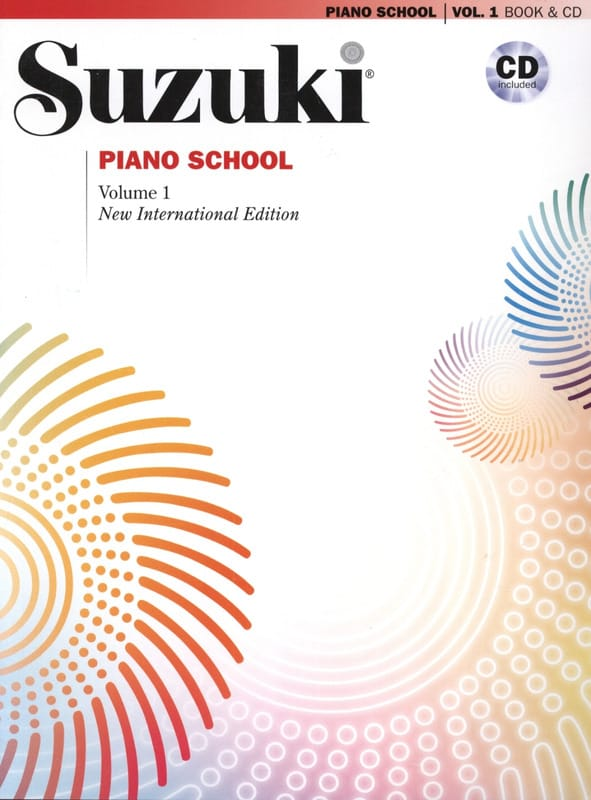 Méthode de Piano SUZUKI - Volume 1 - SUZUKI - laflutedepan.com