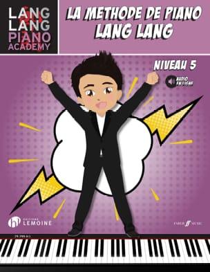 La méthode de Piano LANG LANG - Niveau 5 Lang LANG laflutedepan